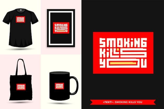 Tipografia alla moda citare motivazione tshirt per la stampa. poster, tazza, borsa tote, abbigliamento e merce tipografica di design verticale con lettere tipografiche
