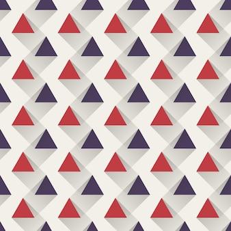 Reticolo del triangolo, fondo geometrico astratto. illustrazione di stile creativo ed elegante