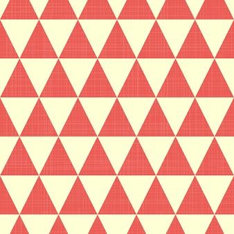 Motivo a triangolo su tessuto, sfondo geometrico astratto. illustrazione di stile creativo e di lusso