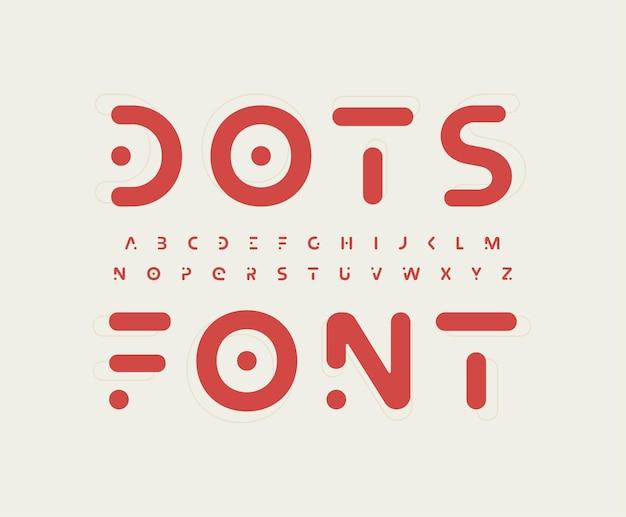 Carattere di lettera alfabeto futuristico tribale logo moderno tipografia minimal nordic vector techno folk
