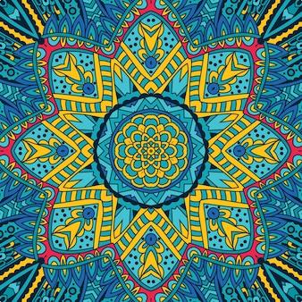 Tribal grunge design del telaio sfondo festivo
