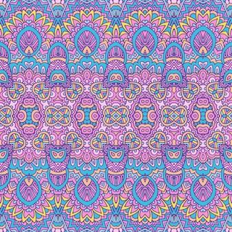 Tribale vintage astratto geometrico vettore etnico senza cuciture ornamentale