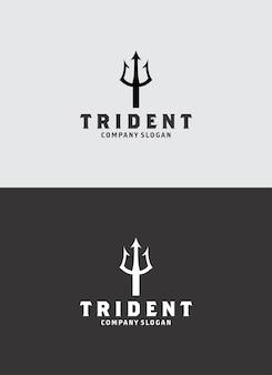 Disegno del logo del tridente