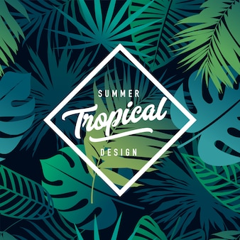 Banner tropicale