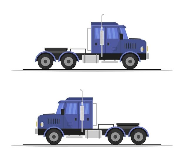 Clipart di camion isolato