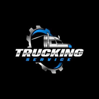 Modello di logo per autotrasporti