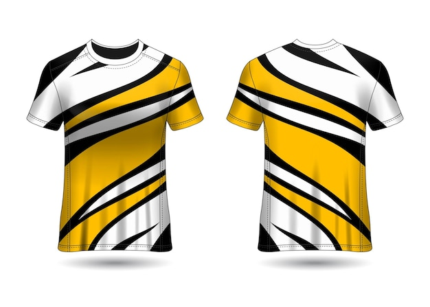 Tshirt sport design maglia da corsa per club