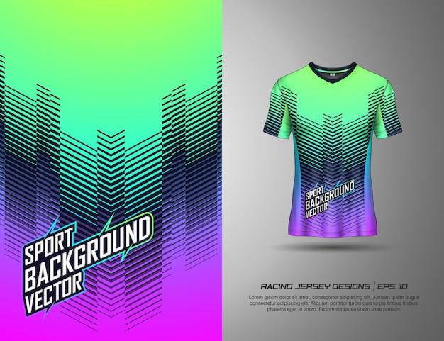 Tshirt design sportivo per giochi di calcio da ciclismo in jersey da corsa