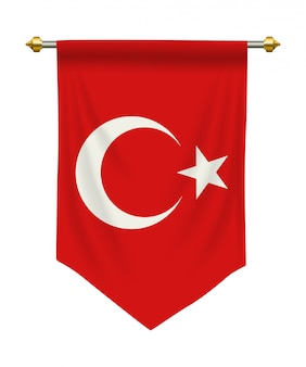 Pennant della turchia