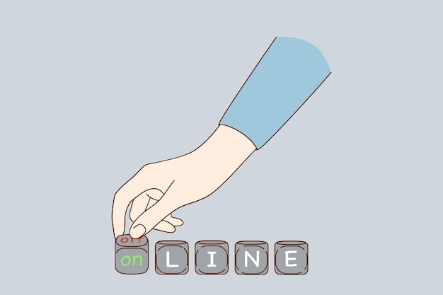 Passando da online a offline