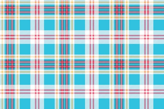 Modello senza cuciture in tessuto tartan scozzese a quadri