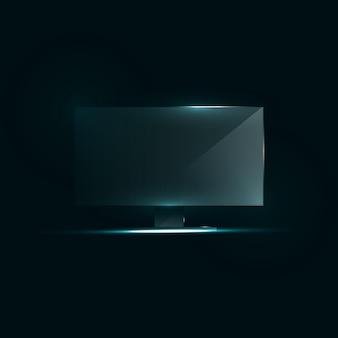 Tv a schermo piatto icd.
