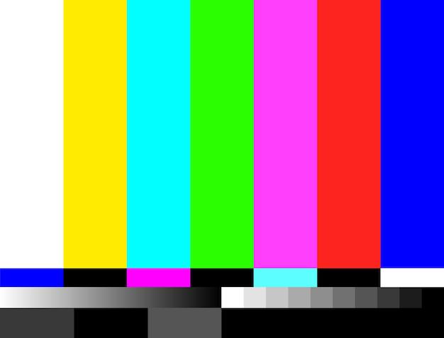 Tv nessuna illustrazione di sfondo del segnale. nessun progetto di trasmissione grafica dello schermo televisivo del segnale.