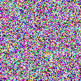 Rumore di pixel tv di sfondo senza soluzione di continuità di schermo di grano canale analogico.