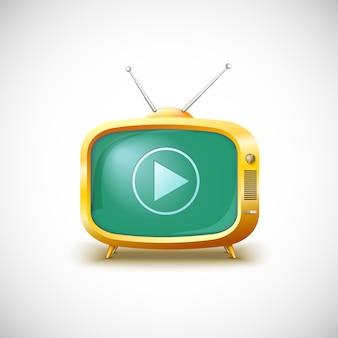 Lettore video tv.