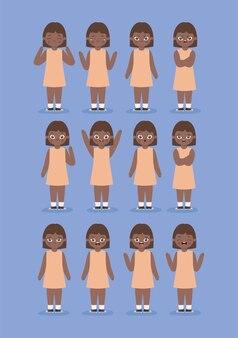 Dodici emozioni da ragazza