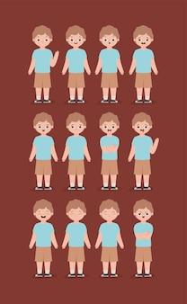 Dodici emozioni maschili