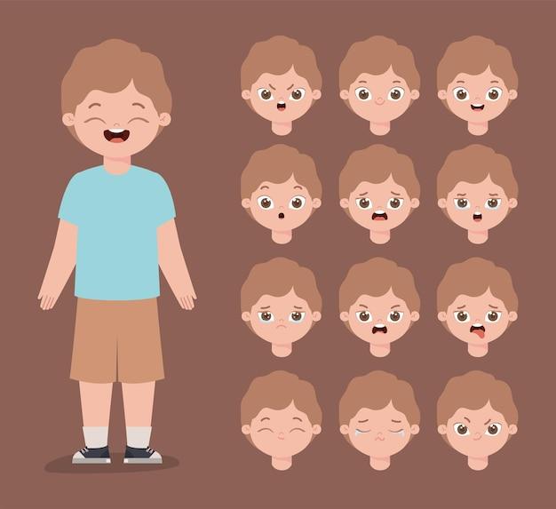 Dodici espressioni maschili