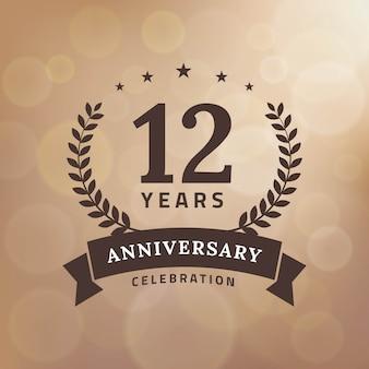 Celebrazione del dodicesimo anniversario