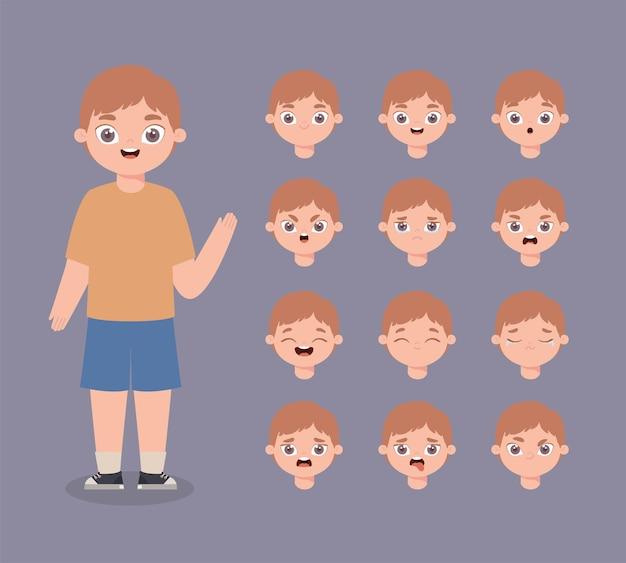 Dodici espressioni da ragazzo