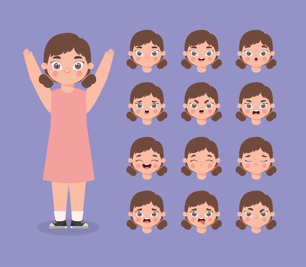 Dodici espressioni da ragazza