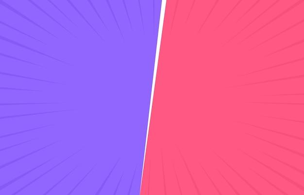 Due colori retrò con angoli di mezzitoni.