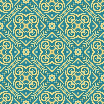Forma astratta senza giunte di due colori. sfondo semplice ornamento modello