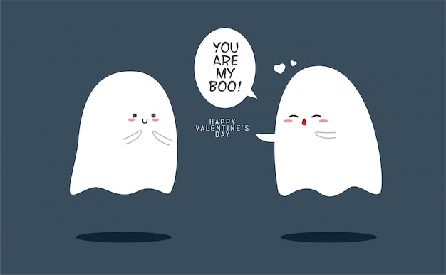 Due simpatici fantasmi a san valentino