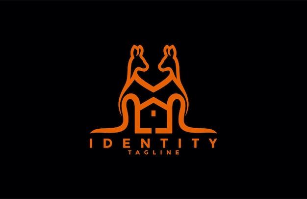 Due logo della casa dei canguri