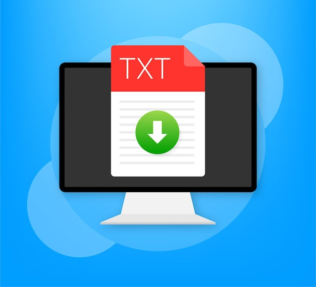 Icona file txt