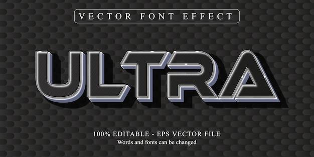 Testo ultra, effetto di testo modificabile in stile neon