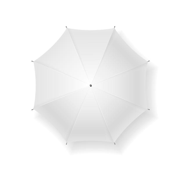 Ombrello vuoto. può essere utilizzato per il tuo design.