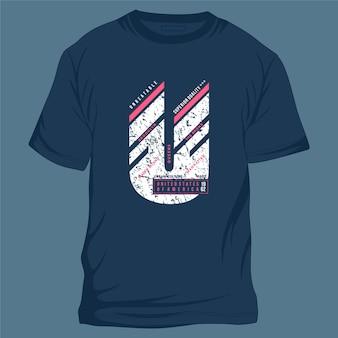 Imbattibile slogan testo simbolo grafico t shirt design illustrazione tipografia