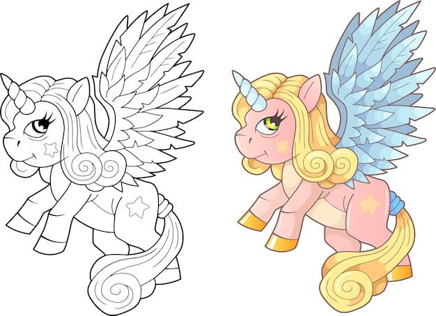 Colorazione di unicorno