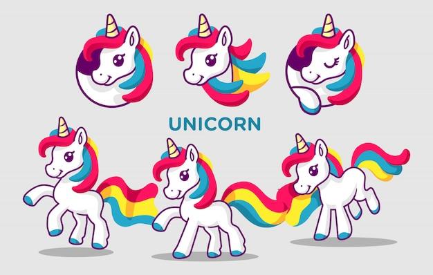 Bambole unicorno
