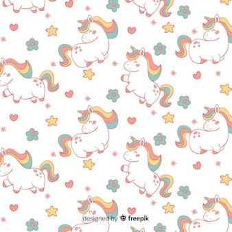 Motivo a unicorno