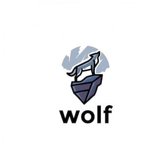 Unico logo animale gazzella giocosa. moderno