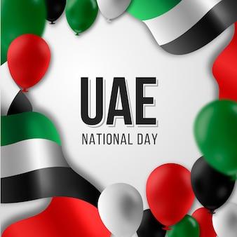 Evento della giornata nazionale degli emirati arabi uniti