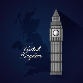 Bandiera dei posti del regno unito