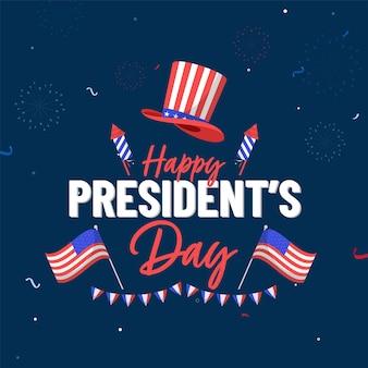 Stati uniti d'america, president's day concept