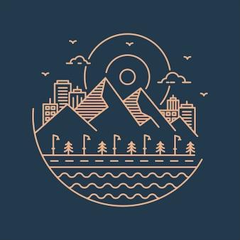 Logo della natura urbana