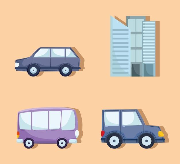 Auto per il trasporto urbano