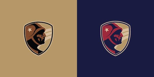 Distintivi militari degli emblemi militari dei chevron dell'esercito americano
