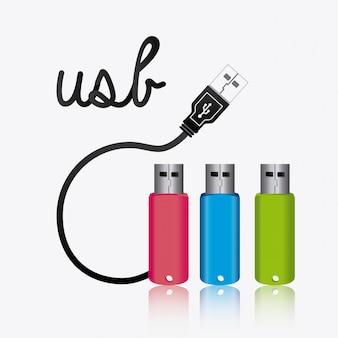 Design usb.