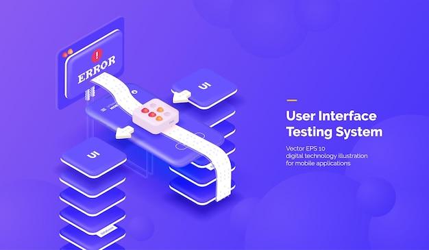 Test dell'interfaccia utente