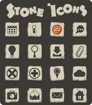 Icone vettoriali dell'interfaccia utente per il web e la progettazione dell'interfaccia utente