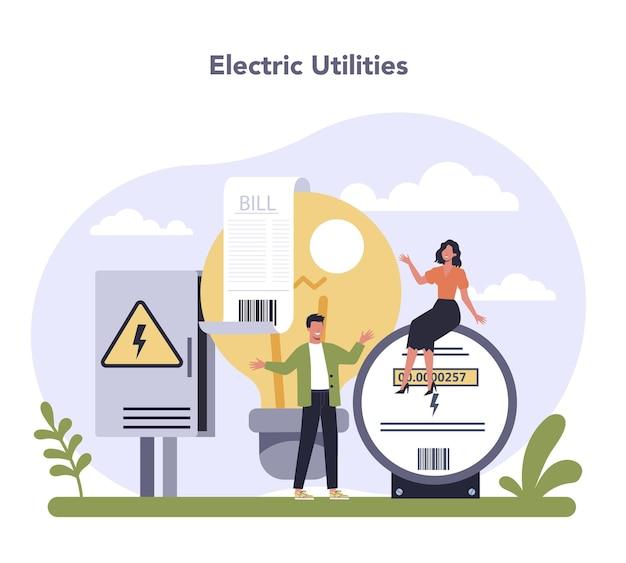 Settore delle utilities dell'economia