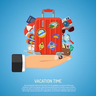 Concetto di vacanze e turismo