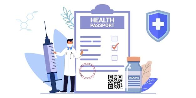 Vaccinazione dose di farmaci preventivi per proteggere il corpo dall'infezione epidemica virus malattie e malattie