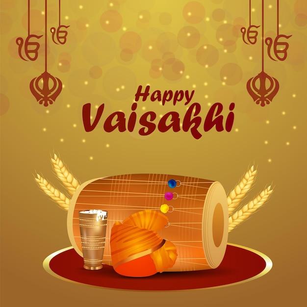 Vaisakhi celebrazione del festival sikh indiano